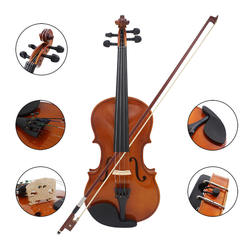 Wholesale price sale musiker brand handmade violin for beginners and children OEM ODM brand stringed instruments