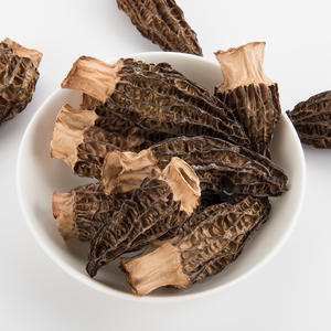 Yunnan 100% Natural Dried Fresh Morel cultivate mushroom Price / morchella esculenta for sale