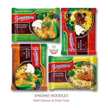 Sinomie Chinese Manufacturing Bulk Fried HALAL Wholesale Private Label OEM Multi Flavour Instant Food Ramen Soup Noodles