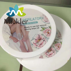 100%polyester spunlace nonwoven eco-friendly high performance wax hair removal paper