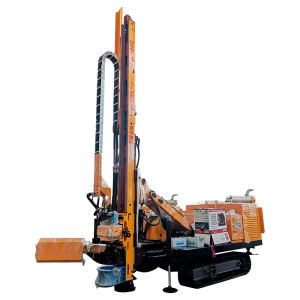 Track mount hydraulic core deep well drill rig core machine