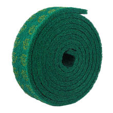 industrial kitchen cleaning sponge green nylon scouring pad in rolls