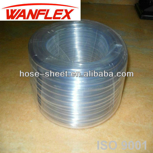 China Manufacturer PVC Clear Level Transparent Water Hose