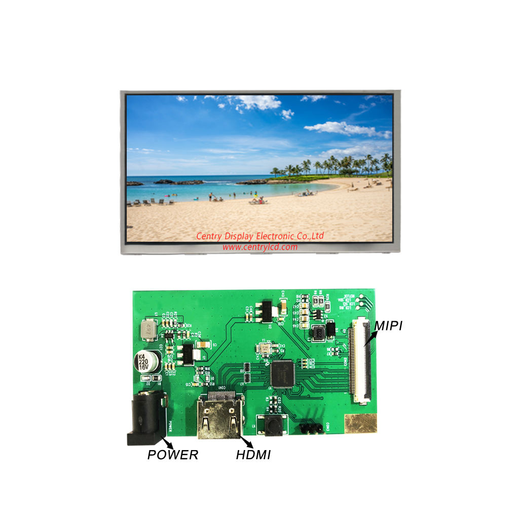 19PIN connector 5V power HDMI naar MIPI control board voor 10.1 inch 1280*800 TFT LCD module