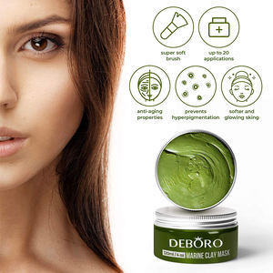 100% VEGAN Dead Sea Mud Mask with Avocado Organic Face Mask for Acne Hydrating Remove Blackhead Avocado clay mask