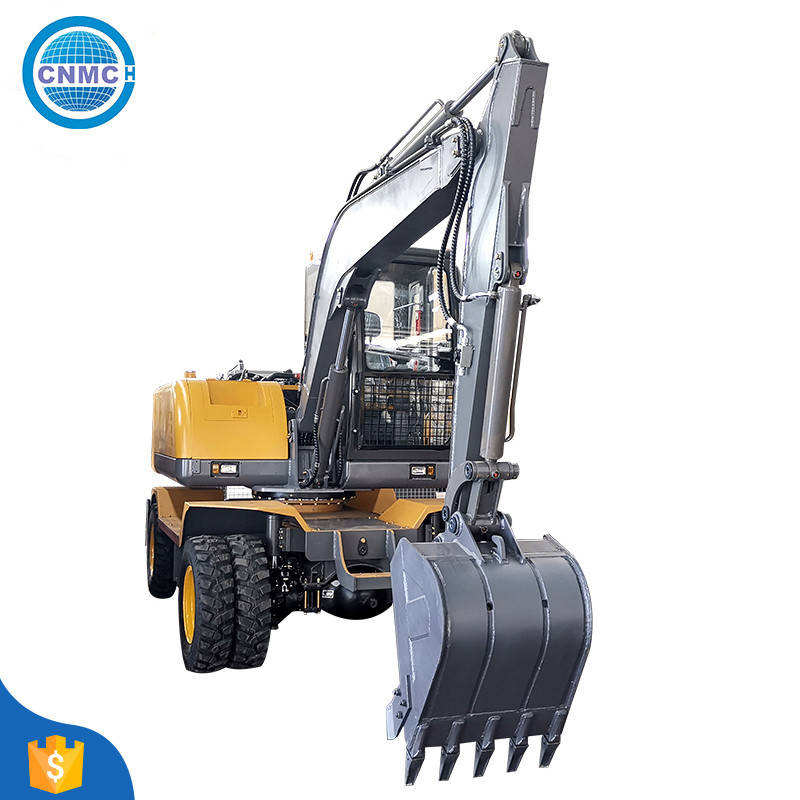 Factory Price Cheap Wheel Excavator For Sale