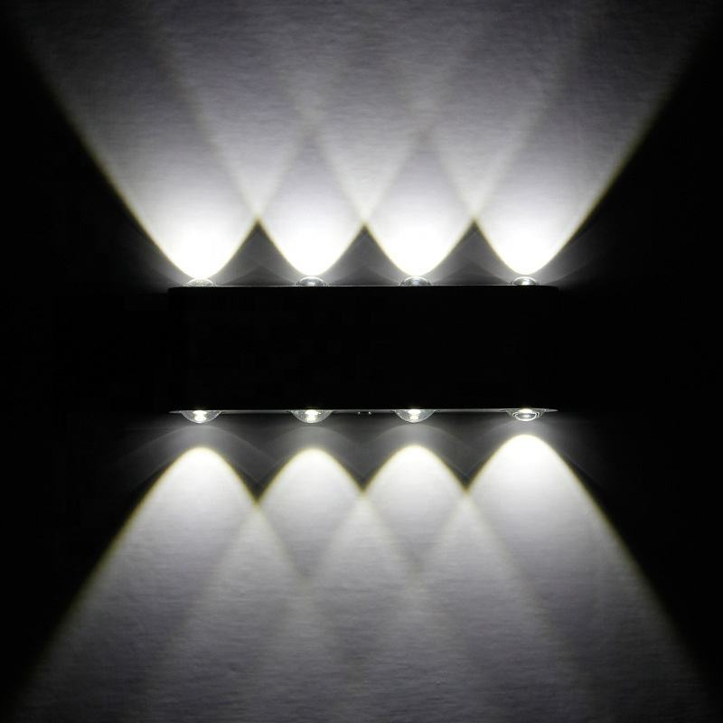 LED wall lamp bedroom bedhead modern simple living room corridor hotel guest corridor hotel aluminum wall lamp