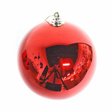 2019 New design cheap 8 cm plastic Christmas ball for Christmas decoration and party decoration