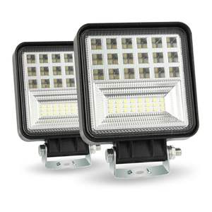 wholesale 126w led work light square work light for offroad vehicle