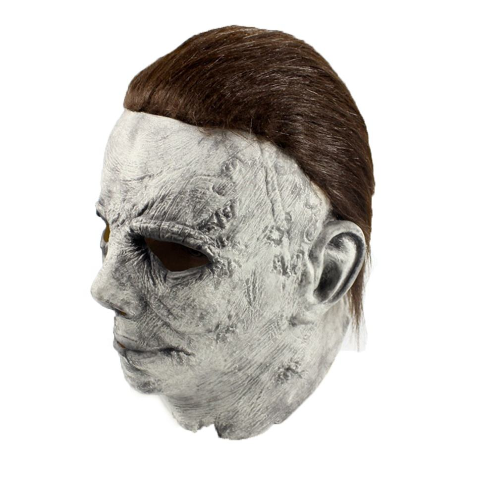 High Quality Halloween Costume Latex Mask Scary Movie Horror Killer Michael Myers Mask