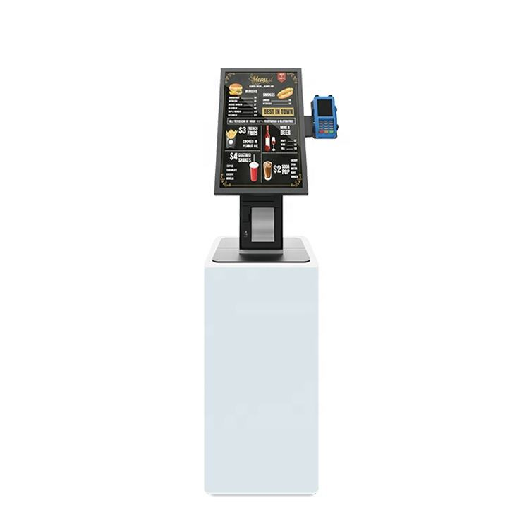 21.5 ''Queue management systeem kiosk Reclame apparatuur