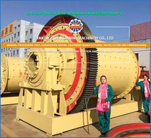 Energy-saving,Grinding machine - Ball mill, used in  Gold , Copper, Lead and Zinc, Graphite, Flourite Processing plant