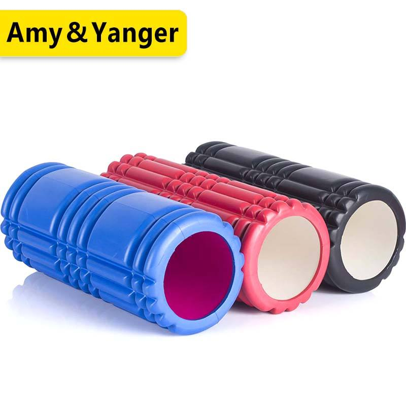 BSCI factory high density yoga hollow EVA foam roller