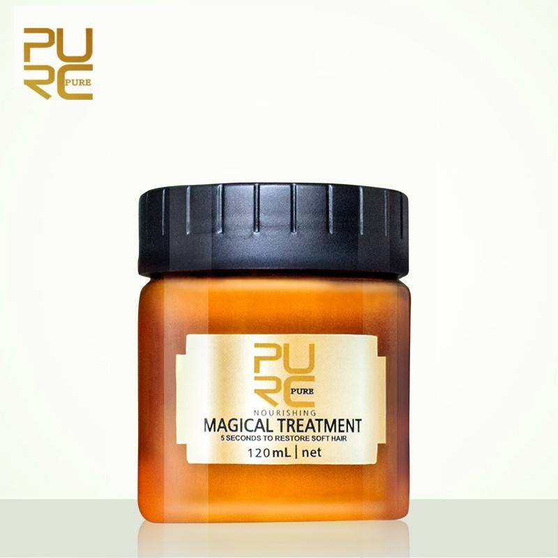 Amazon hot sale instant repair 60ml 120ml magical hair mask treatment