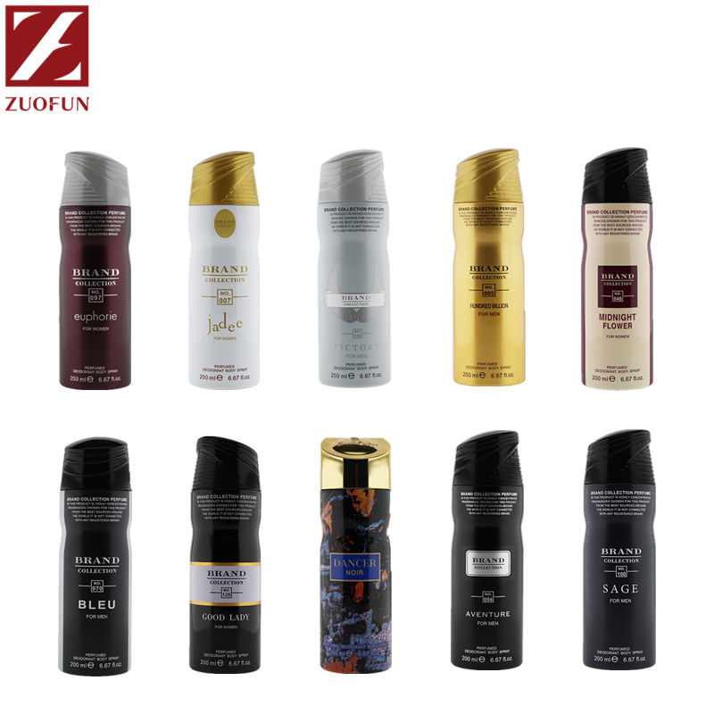 Oriental Amadeirado ZUOFUN 200ML Natural OEM Homens Parfum Spray Corporal