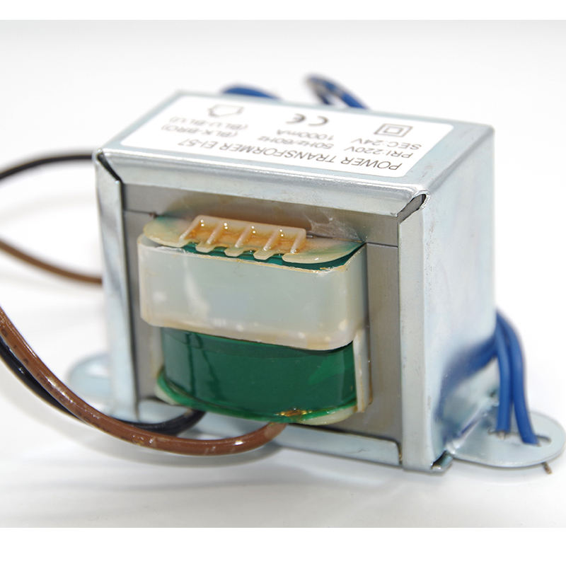 Ei 57 Single Phase Konverter Frekuensi 50Hz 60Hz Laminate Core Transformer untuk Air Purifier