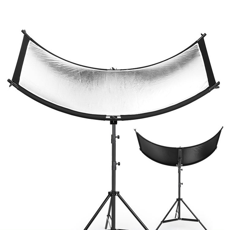 Factory sale 4 color u typed professional photo light diffuser studio light reflector kit for camera photography