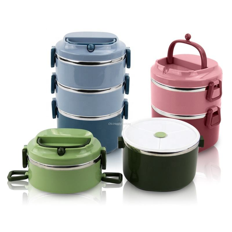 Hot sealing children 304 stainless steel lunch bento box