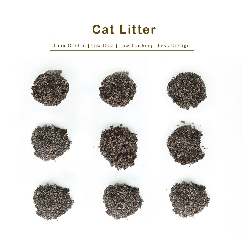 premium quality bentonite rock mixed cat llitter with resonable price