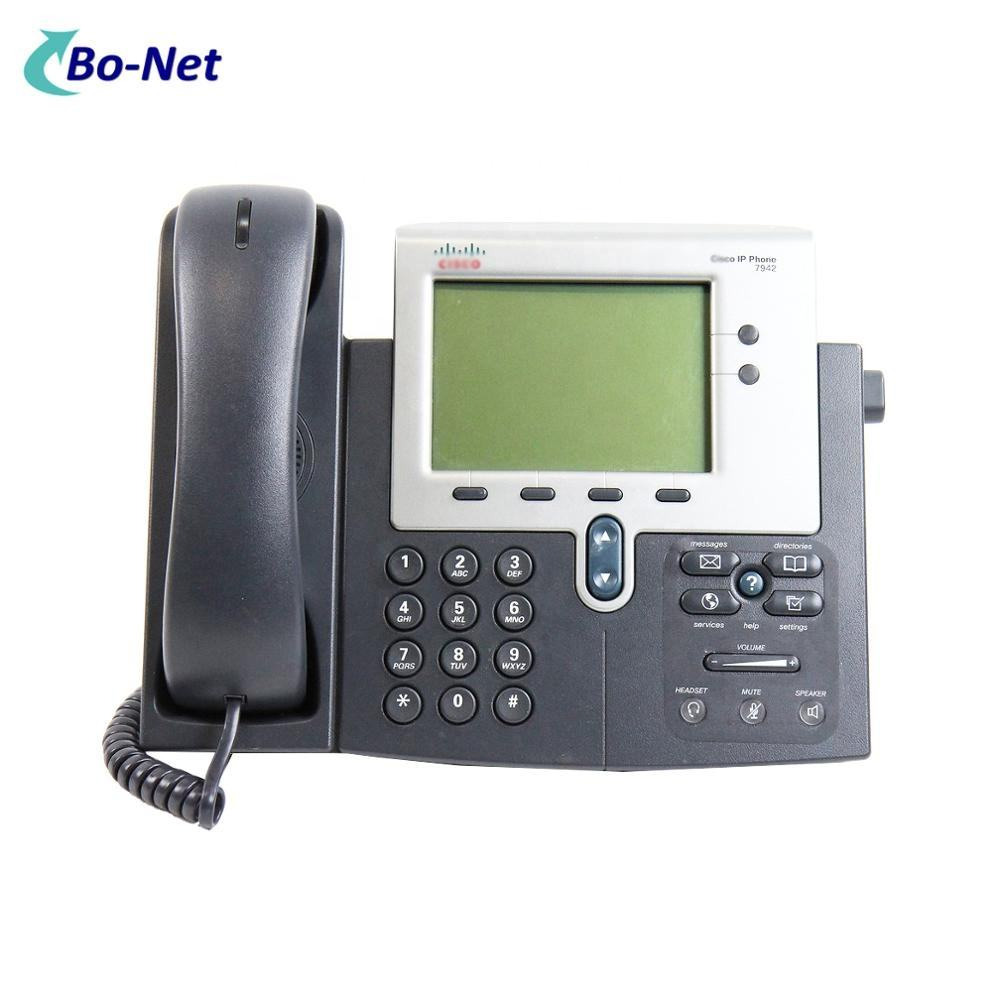 Asli CISCO CP-7942G <span class=keywords><strong>VoIP</strong></span> Telepon IP Phone 7942G