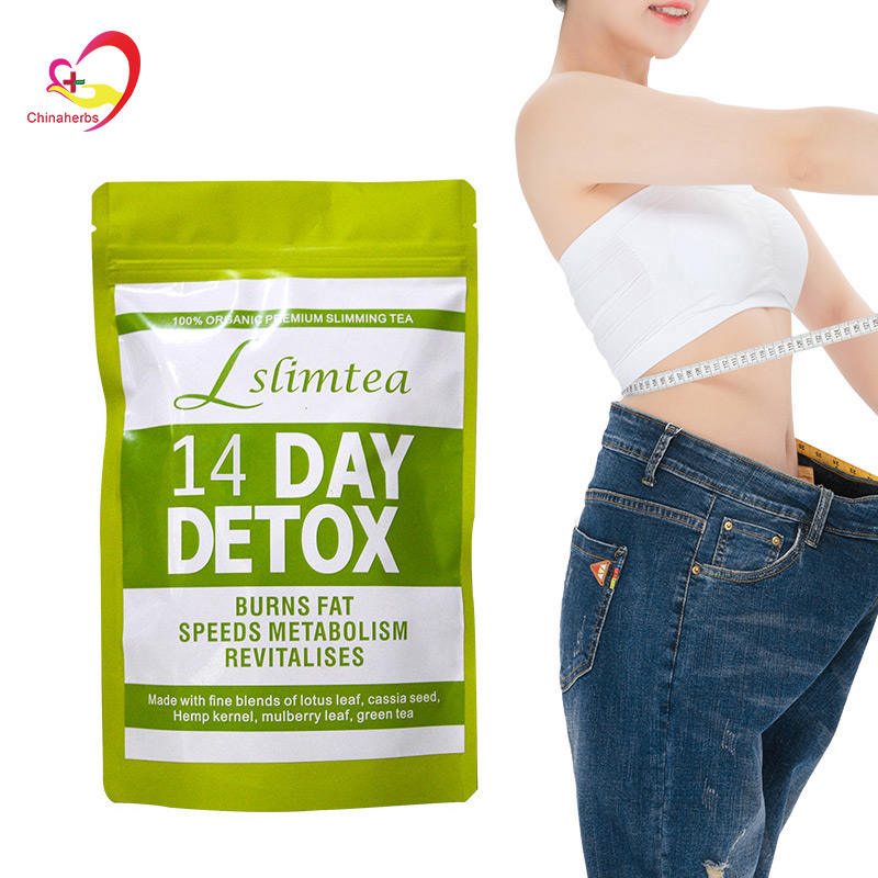 100% Herbal Medicine Private Label 14 and 28 Day Detox Slimming Tea Help Body Weight Loss
