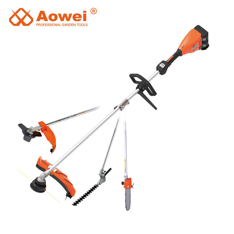 AOWEI Cycgt01,18V/20V Cordless Grass Trimmer Adjustable Trimming Angle With Soft Grip In Main Handle,Bare Machine