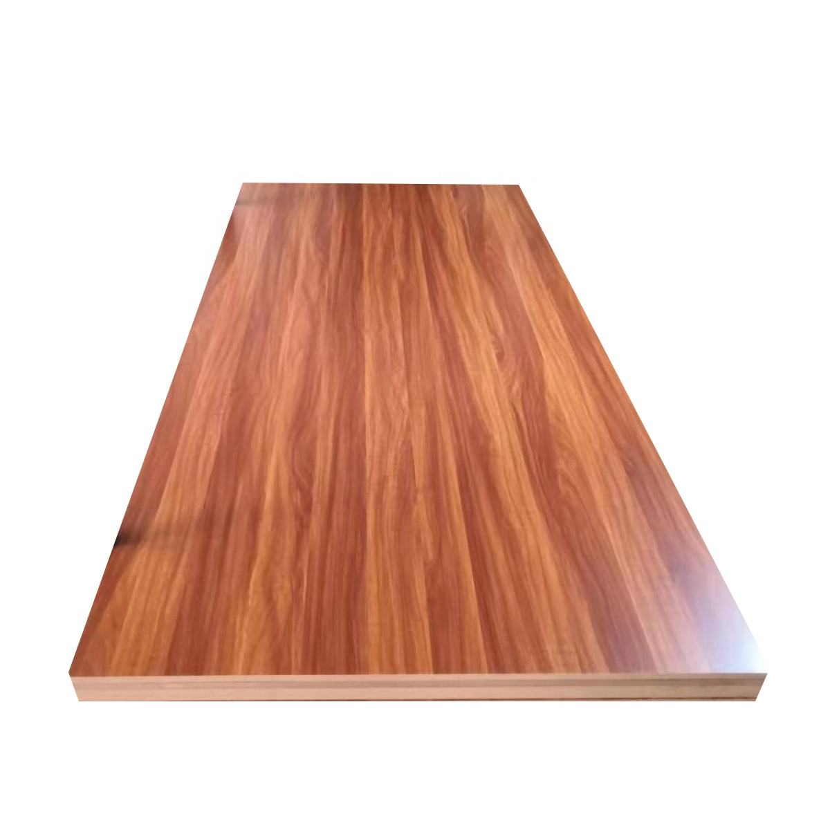 E2 Moisture resistant customized wood grain18mm x1220x2440mm Melamine MDF