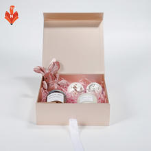A023A Unique gift ideas scented candles bath bomb custom logo unique christmas souvenir gift set for girlfriend