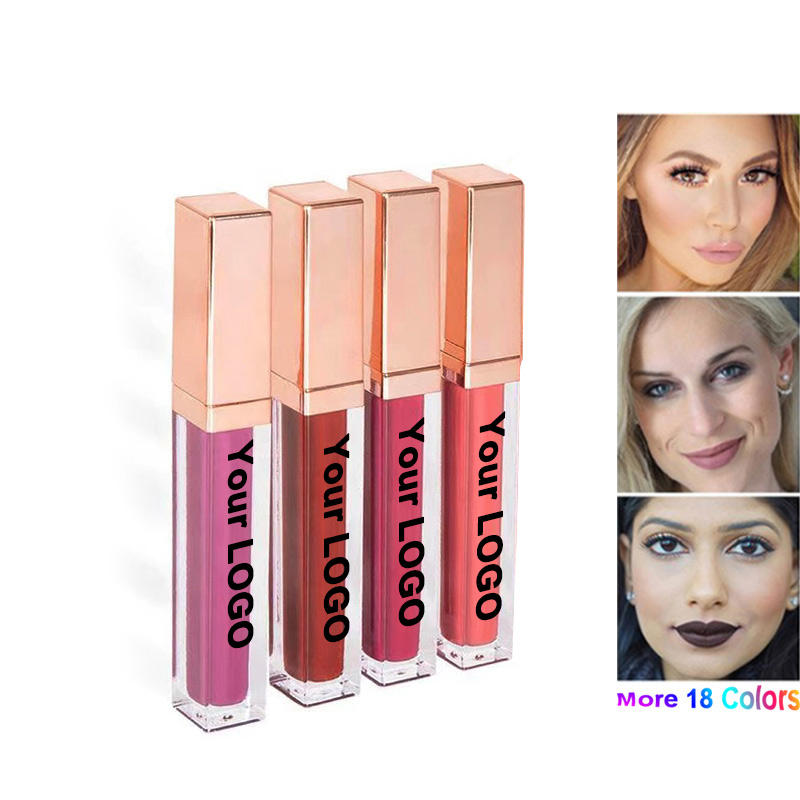 <span class=keywords><strong>35</strong></span> Farben Oem Set Glossy Kits Private Label Flüssiges Lippen peeling Matte Lipstick Hold Live