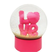 100mm Romantic Love Ball Decoration Wedding Favors Souvenir Snow Globe