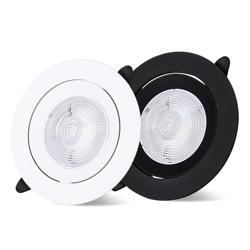Wholesale Recessed Led Ceiling Spotlight 10w Led Focus Light Narrow Beam Angle Aluminum COB Spot Light
