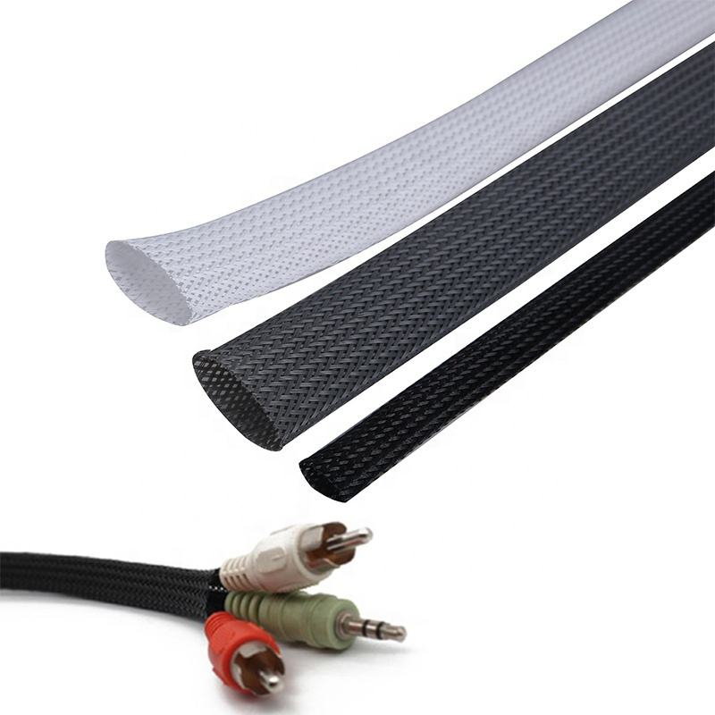 10MM PET Blackbraided Sleeving Braided Sleeving
