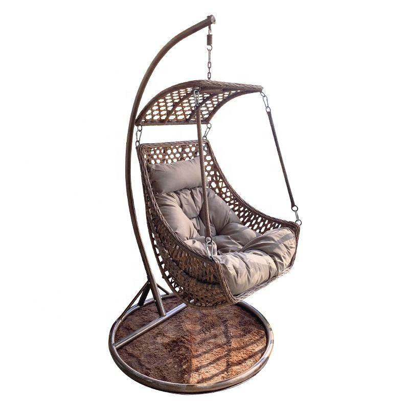 Outdoor Swing Chair Indoor Living Room Nordic Bird's Nest Single Garden Swing Seat Balcony Rattan Hanging Egg Chair