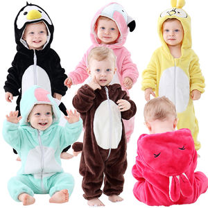 MICHLEY Baby Boys Hooded Clothes One-piece Animal Winter Baby Costume