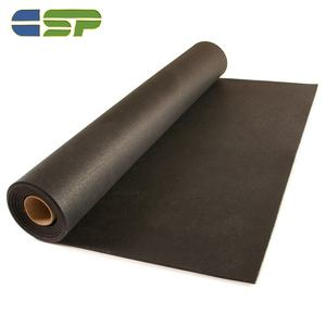 Noise reduction shockproof 6mm/8mm thick Anti slip Crossfit rubber roll rubber gym flooring