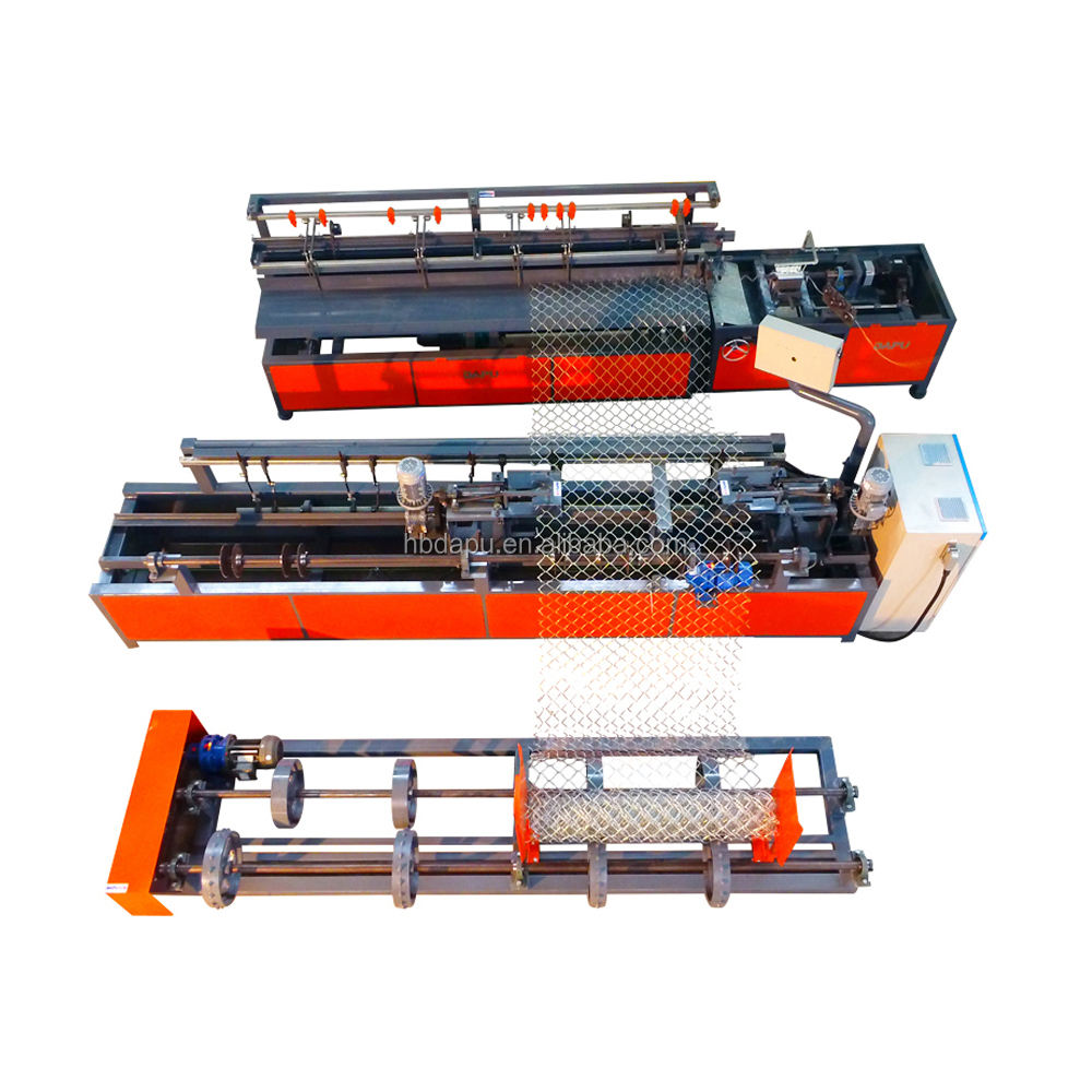 Best price automatic wire chain link fence netting machine