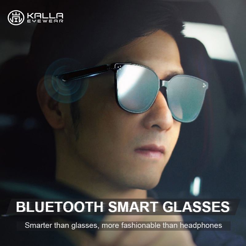 KALLA Glasses Smart Ar Smart MP3 Musich AR/VR Anti Blue Light New Arrival Fashion Glasses