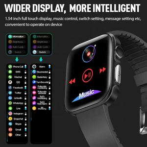 OEM full screen ecg fitness blood oxygen pressure band sport waterproof ip68 relojes inteligentes bluetooth android smart watch