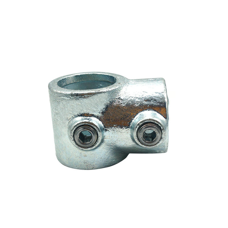 Tube Clamp Fittings Steel Pipe Key Clamps Hot Galvanized Finishing Short Tee Structural Fittings