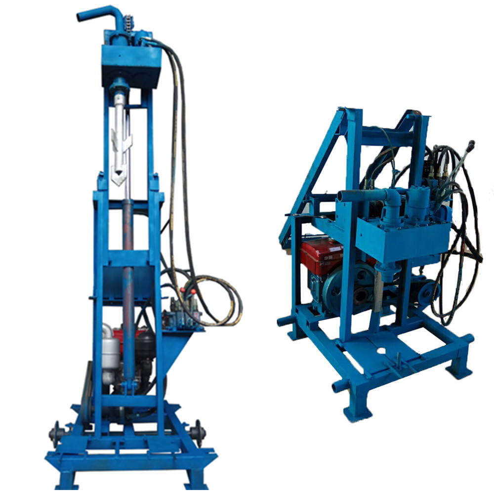Cheap Portable 100m deep Small Used Water Bore Well Drilling Machine Prices