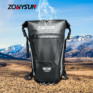 Outdoor Sport PVC Waterproof Dry Bag Roll Top Backpack Travel Bag With Wide Shoulder Strap
