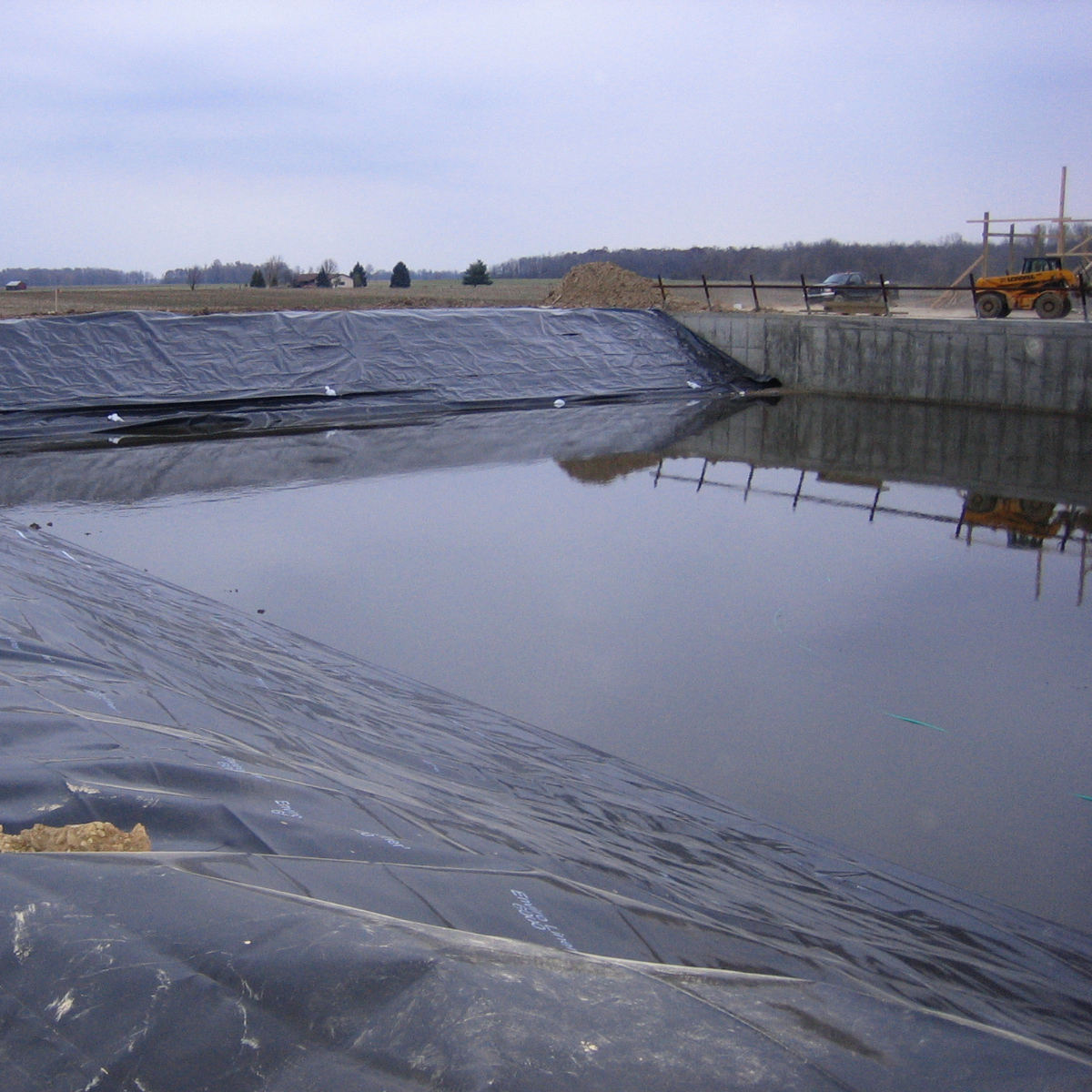 Geomembrane 40 mils 0.5mm 1.0mm 1.5mm 2.0mm pond liner hdpe lldpe waterproof membrane ldpe sheet