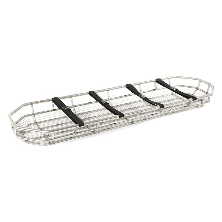 OSEN-HS33 Ambulance Rescue Emergency Stainless Steel Basket Stretcher