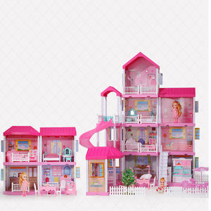 2021hot sell 4 floors doll house asseccories and high quality doll house asseccories and furniture 1 12 scale
