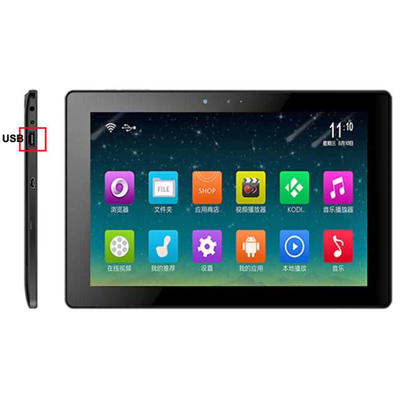 10 inç Android Tablet PC/32 GB IPS çoklu dokunmatik Tablet PC/Tablet TF kart portu ile