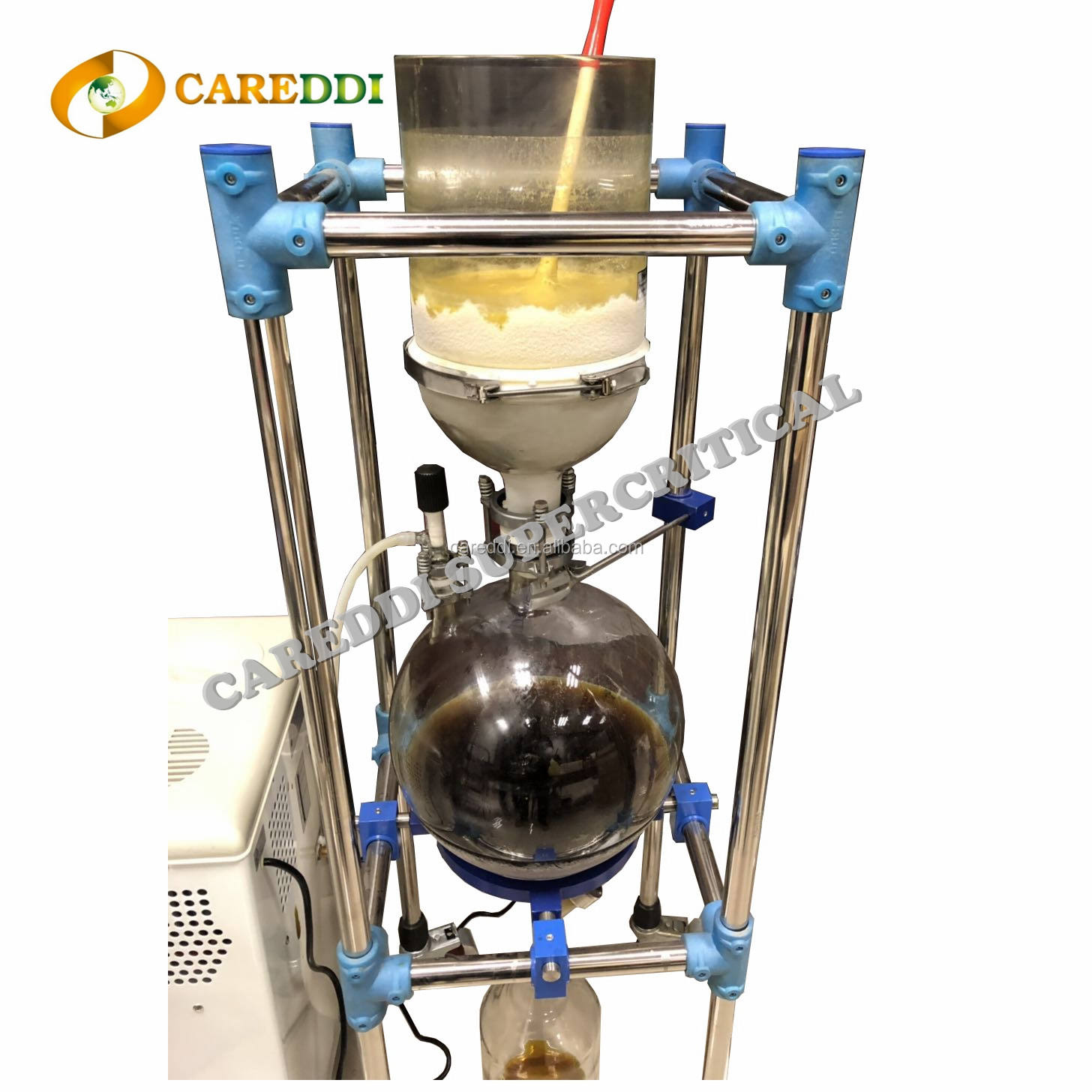CBD Purification Chemical Vacuum Filter CBD Dewaxing Machine Jacketed Vacuum Filter For Sale