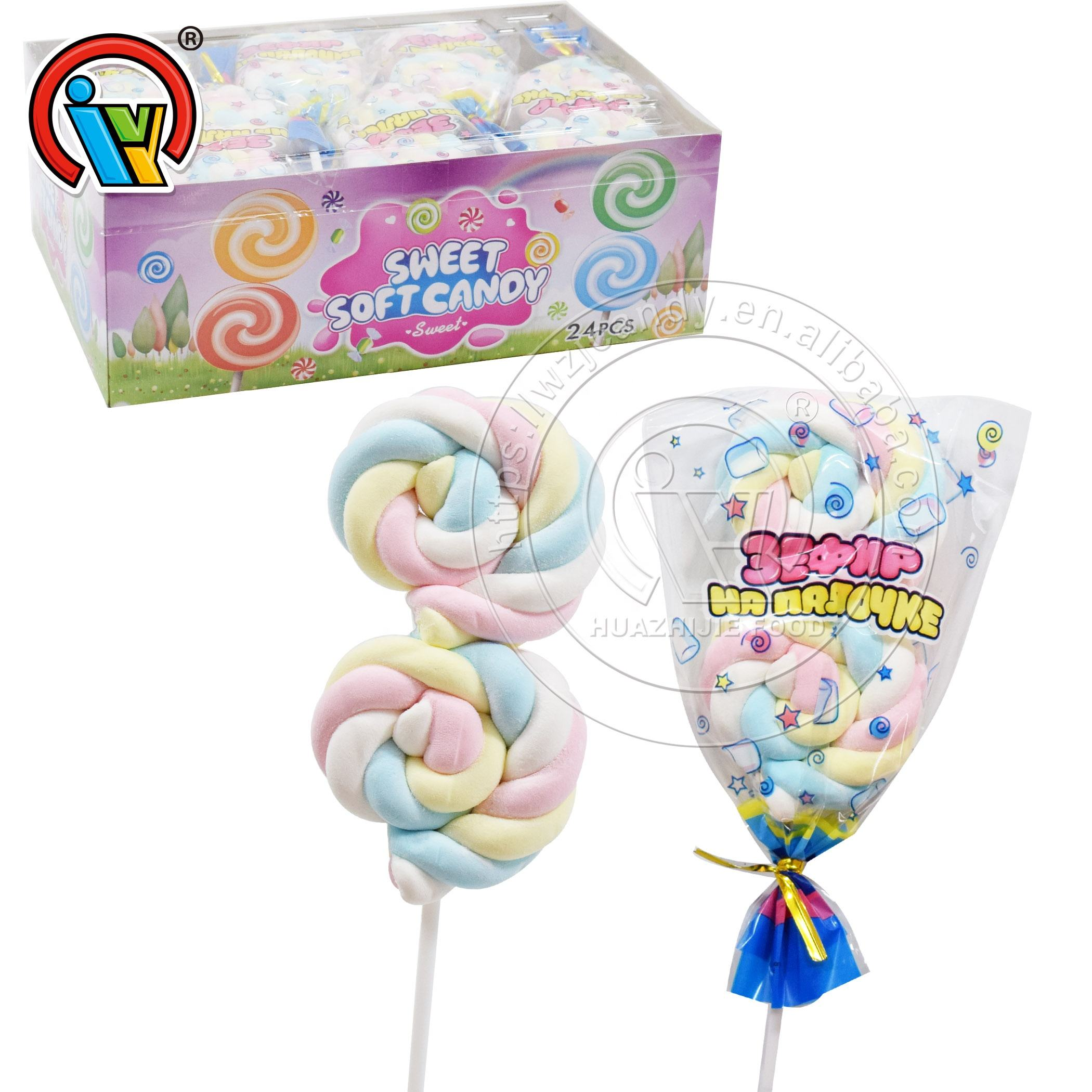 Halal Double Marshmallow Candy Cotton For Kids