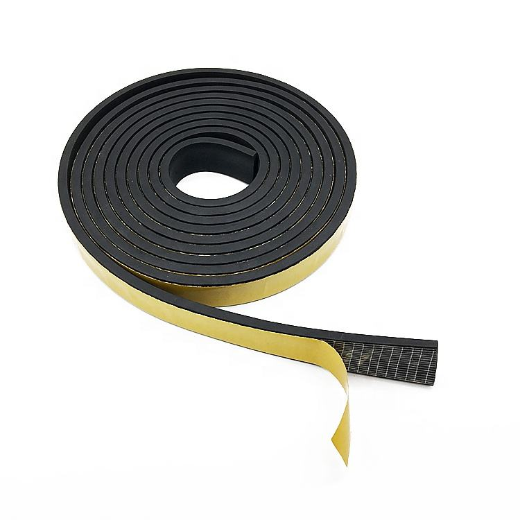 5M door window epdm rubber foam self adhesive sealing strip weatherstrip draught excluder