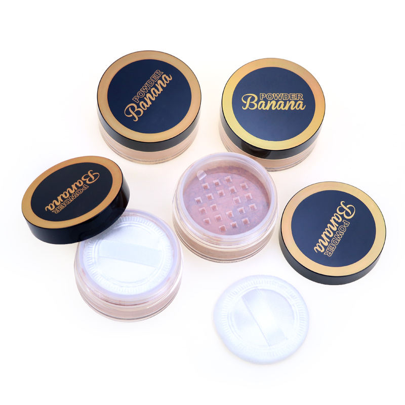 Private Label Face Makeup Translucent Loose Powder Matte Foundation Oil Control Setting Loose Powder