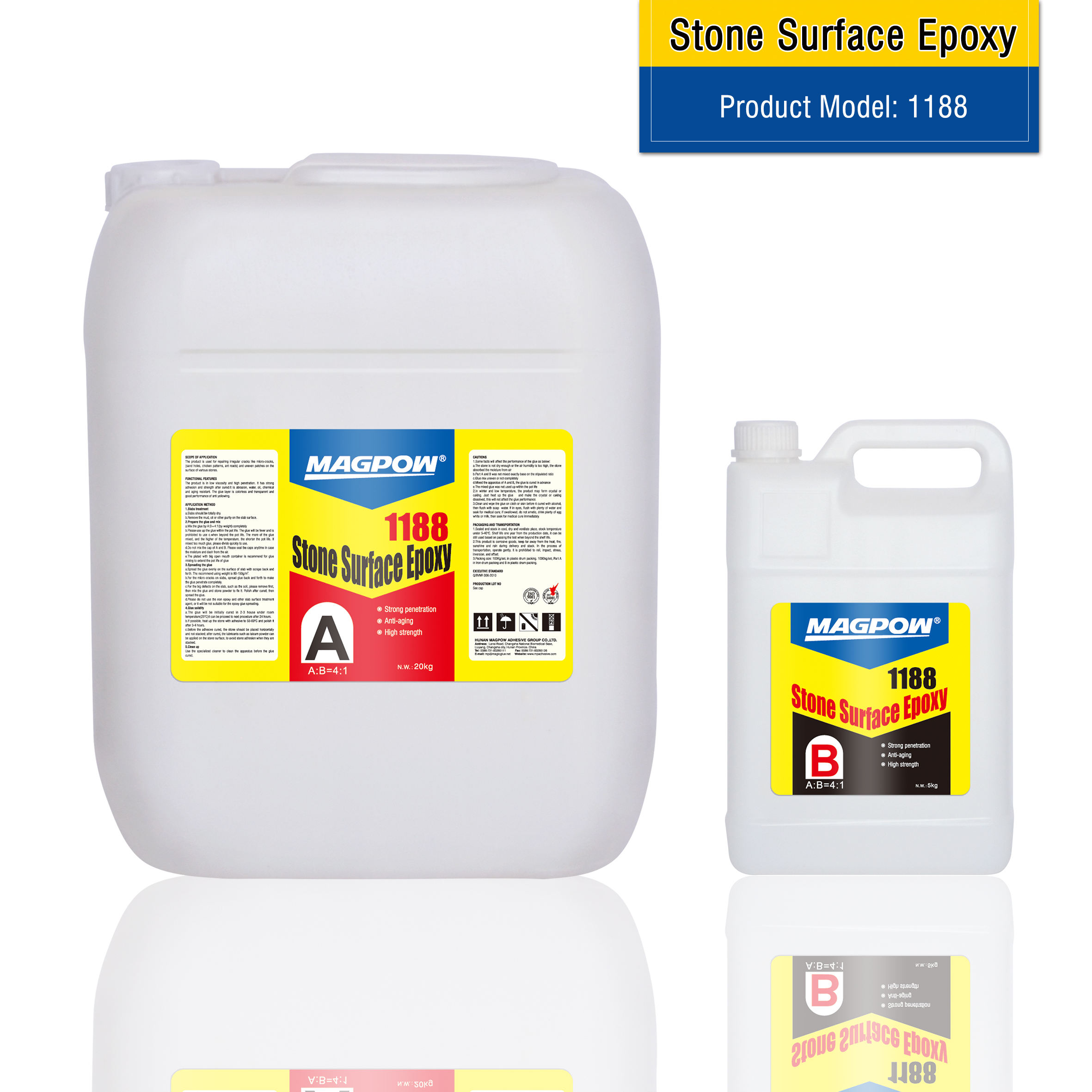 Stone Epoxy Resin For Micro Fissures Filling Epoxies
